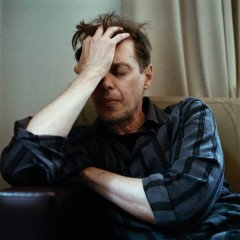 Steve Buscemi crying